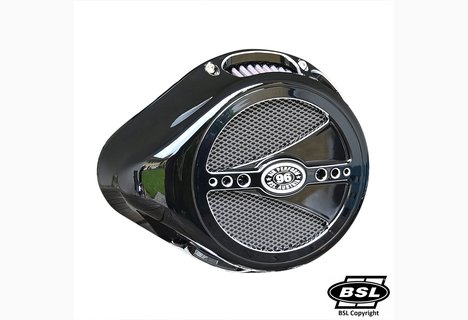BSL DROP CHOPP Switch CUSTOM -Body Black Shine Contrast Cut, Front Cover Black Shine